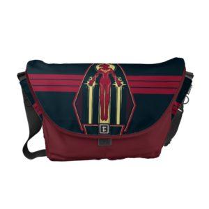 Captain Marvel | Flying Character Badge Courier Bag