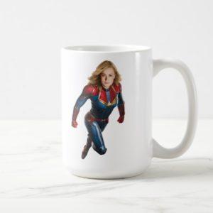 Captain Marvel | Flying Closeup Character Art Coffee Mug