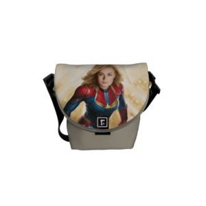 Captain Marvel | Flying Closeup Character Art Courier Bag