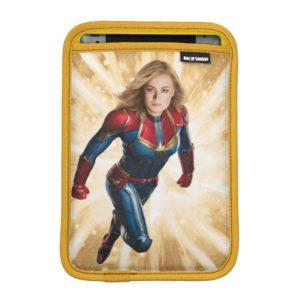 Captain Marvel | Flying Closeup Character Art iPad Mini Sleeve