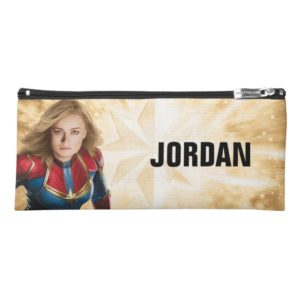 Captain Marvel | Flying Closeup Character Art Pencil Case