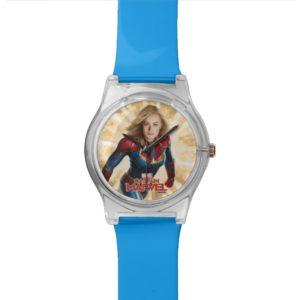 Captain Marvel | Flying Closeup Character Art Watch