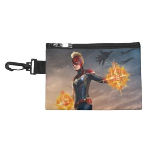 Captain Marvel | Flying With Energy Fists Accessory Bag