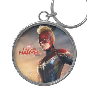 Captain Marvel | Flying With Energy Fists Keychain