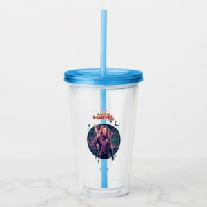 Captain Marvel | Galactic Goose & Carol Graphic Acrylic Tumbler