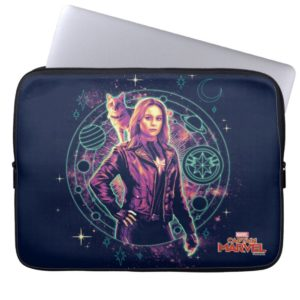 Captain Marvel | Galactic Goose & Carol Graphic Computer Sleeve