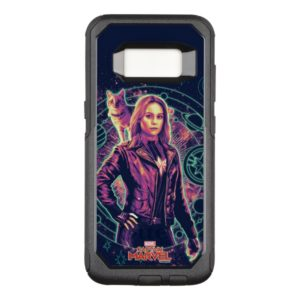 Captain Marvel | Galactic Goose & Carol Graphic OtterBox Commuter Samsung Galaxy S8 Case