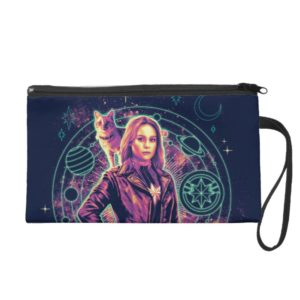 Captain Marvel | Galactic Goose & Carol Graphic Wristlet