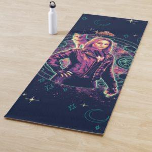 Captain Marvel | Galactic Goose & Carol Graphic Yoga Mat