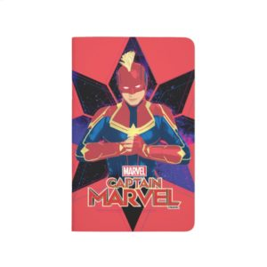 Captain Marvel | Galactic Star Character Graphic Journal