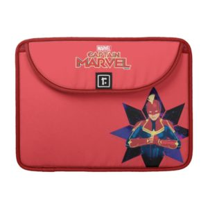 Captain Marvel | Galactic Star Character Graphic MacBook Pro Sleeve