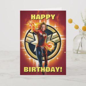 Captain Marvel   Glowing Photon Energy Card