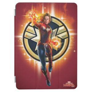 Captain Marvel | Glowing Photon Energy iPad Air Cover
