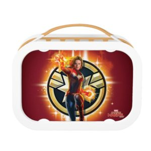 Captain Marvel | Glowing Photon Energy Lunch Box