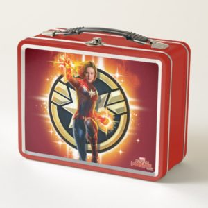 Captain Marvel | Glowing Photon Energy Metal Lunch Box
