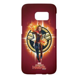 Captain Marvel | Glowing Photon Energy Samsung Galaxy S7 Case