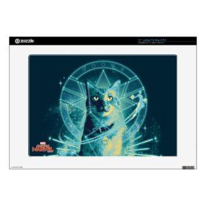 "Captain Marvel | Goose Constellation Graphic 15"" Laptop Decal"