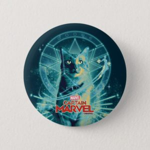 Captain Marvel | Goose Constellation Graphic Button