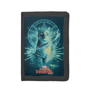 Captain Marvel | Goose Constellation Graphic Trifold Wallet