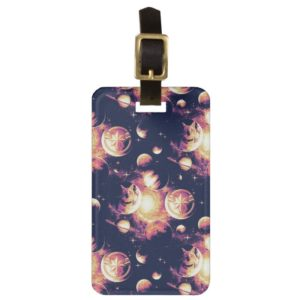 Captain Marvel | Goose Planetary Pattern Bag Tag