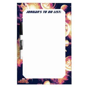 Captain Marvel   Goose Planetary Pattern Dry Erase Board