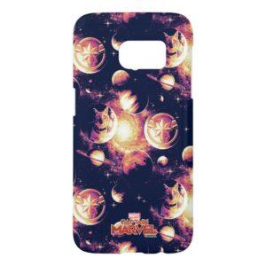 Captain Marvel | Goose Planetary Pattern Samsung Galaxy S7 Case