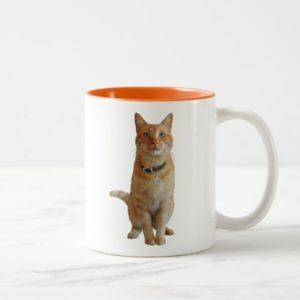 Captain Marvel | Goose Sitting Up Two-Tone Coffee Mug