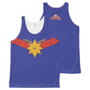 Captain Marvel | Hala Star Symbol All-Over-Print Tank Top