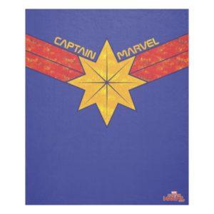 Captain Marvel | Hala Star Symbol Fleece Blanket