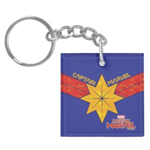 Captain Marvel | Hala Star Symbol Keychain