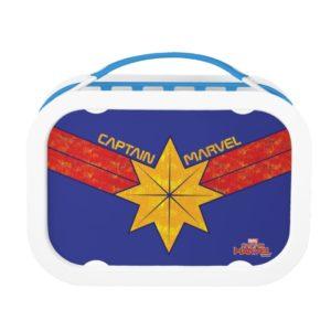 Captain Marvel   Hala Star Symbol Lunch Box