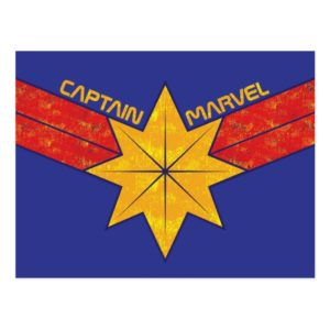 Captain Marvel | Hala Star Symbol Postcard