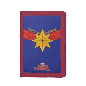 Captain Marvel | Hala Star Symbol Trifold Wallet