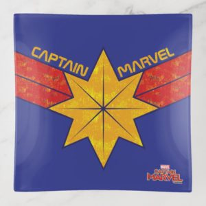 Captain Marvel | Hala Star Symbol Trinket Trays