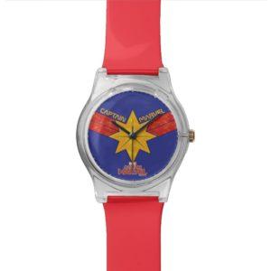 Captain Marvel   Hala Star Symbol Watch