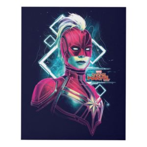 Captain Marvel | High Tech Glowing Character Art