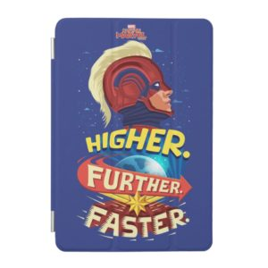 Captain Marvel | Higher, Further, Faster iPad Mini Cover