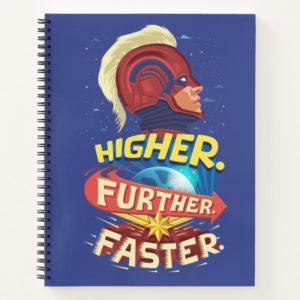Captain Marvel | Higher, Further, Faster Notebook