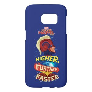 Captain Marvel | Higher, Further, Faster Samsung Galaxy S7 Case