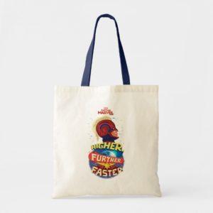 Captain Marvel | Higher, Further, Faster Tote Bag