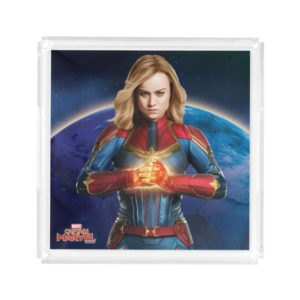 Captain Marvel | Holding Fist Character Art Acrylic Tray