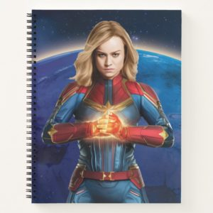Captain Marvel | Holding Fist Character Art Notebook