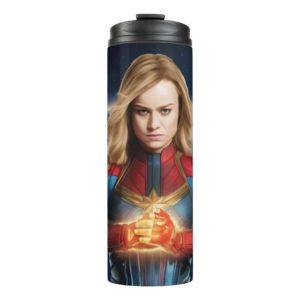 Captain Marvel | Holding Fist Character Art Thermal Tumbler