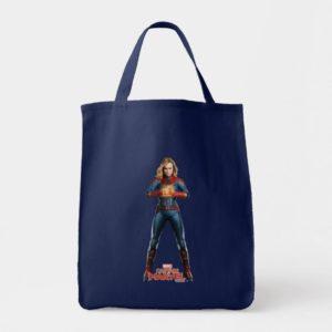 Captain Marvel | Holding Fist Character Art Tote Bag