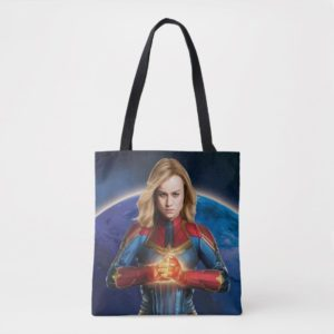 Captain Marvel | Holding Fist Character Art Tote Bag