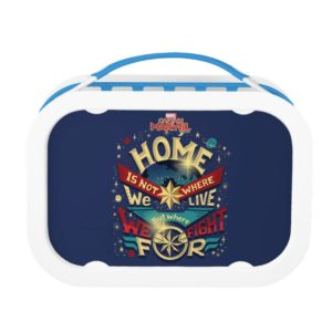 Captain Marvel | Home Is Not Where We Live Lunch Box