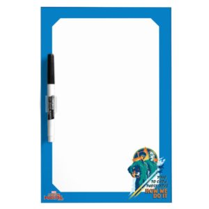 "Captain Marvel | Maria & Carol ""How We Do It"" Dry Erase Board"