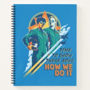 "Captain Marvel | Maria & Carol ""How We Do It"" Notebook"