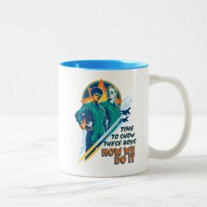 "Captain Marvel   Maria & Carol ""How We Do It"" Two-Tone Coffee Mug"