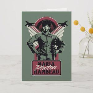 Captain Marvel | Maria Photon Rambeau Card